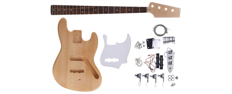 Bass Guitar Kit J-Style
