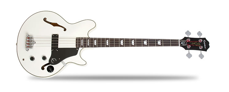 Jack Casady Signature Bass Alpine White