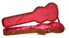 GW-SG-BROWN Deluxe Wood Case Brown SG Guitar