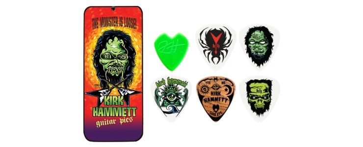 KH01T088 Kirk Hammett Signature Picks