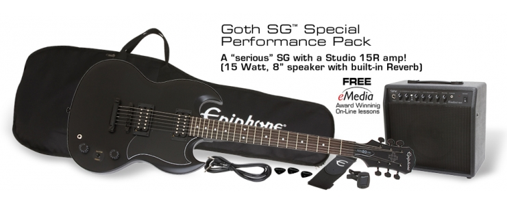 """Goth"" SG Performance Pack"