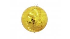 Mirror ball 40cm gold