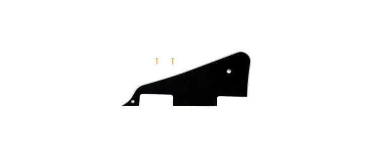 PRPG-020 Les Paul Custom Black Pickguard