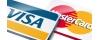 К оплате принимаются карты Visa и MasterCard