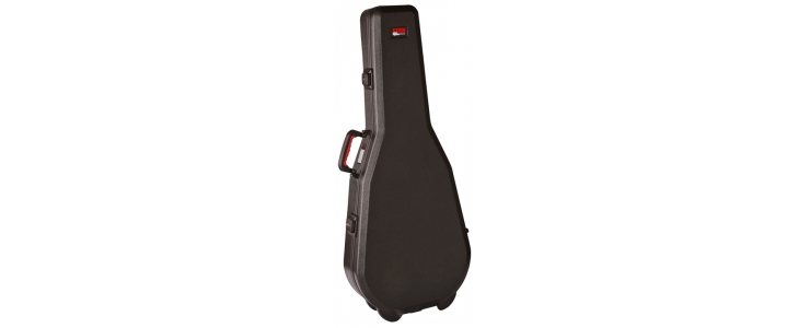 GPE-DREAD-TSA Dreadnought Guitar Case TSA Latches