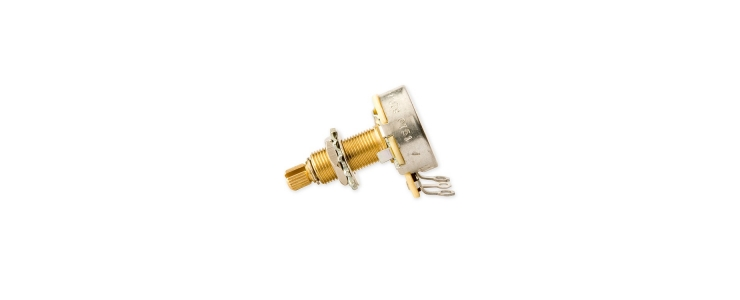 PPAT-500 Audio Taper Potentiometer Long Shaft