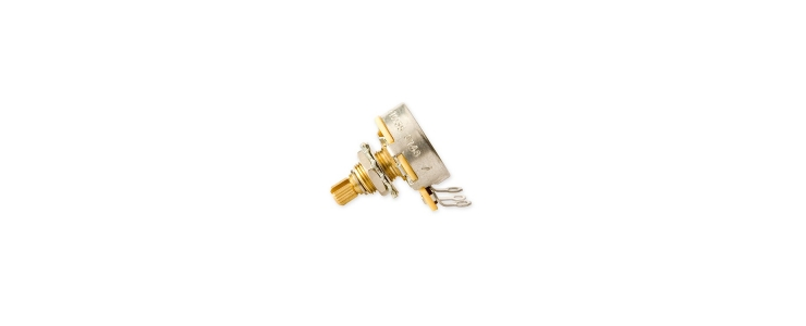 PPAT-510 Audio Taper Potentiometer Short Shaft