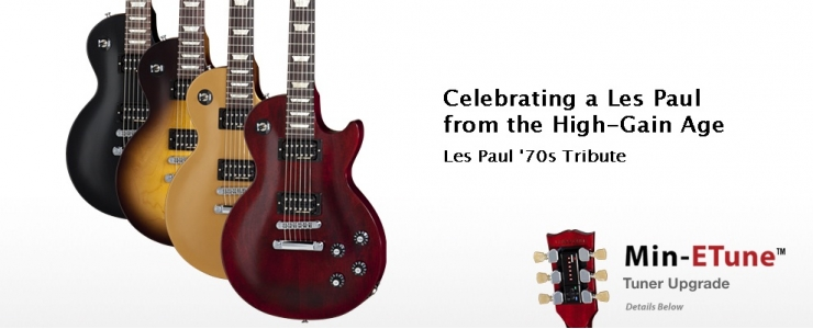 Les Paul '70s Tribute Min-ETune™