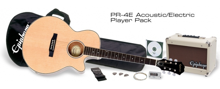 PR-4E Acoustic/Electric Player Pack