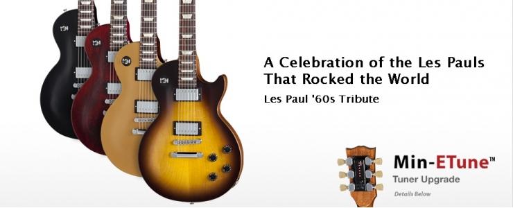 Les Paul '60s Tribute Min-ETune™