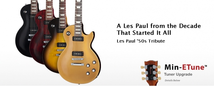 Les Paul '50s Tribute Min-ETune™