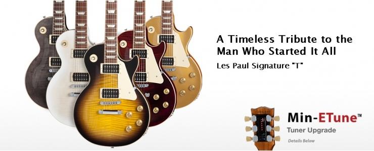 """Les Paul Signature """"T"""" Min-ETune™"""