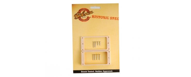 PRPR-035 Humbucker Frame Historic Pickup Rings (Creme)