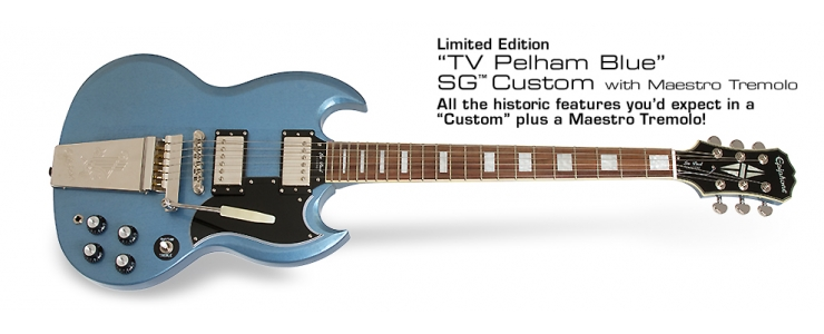 SG Custom Maestro TV Pelham Blue