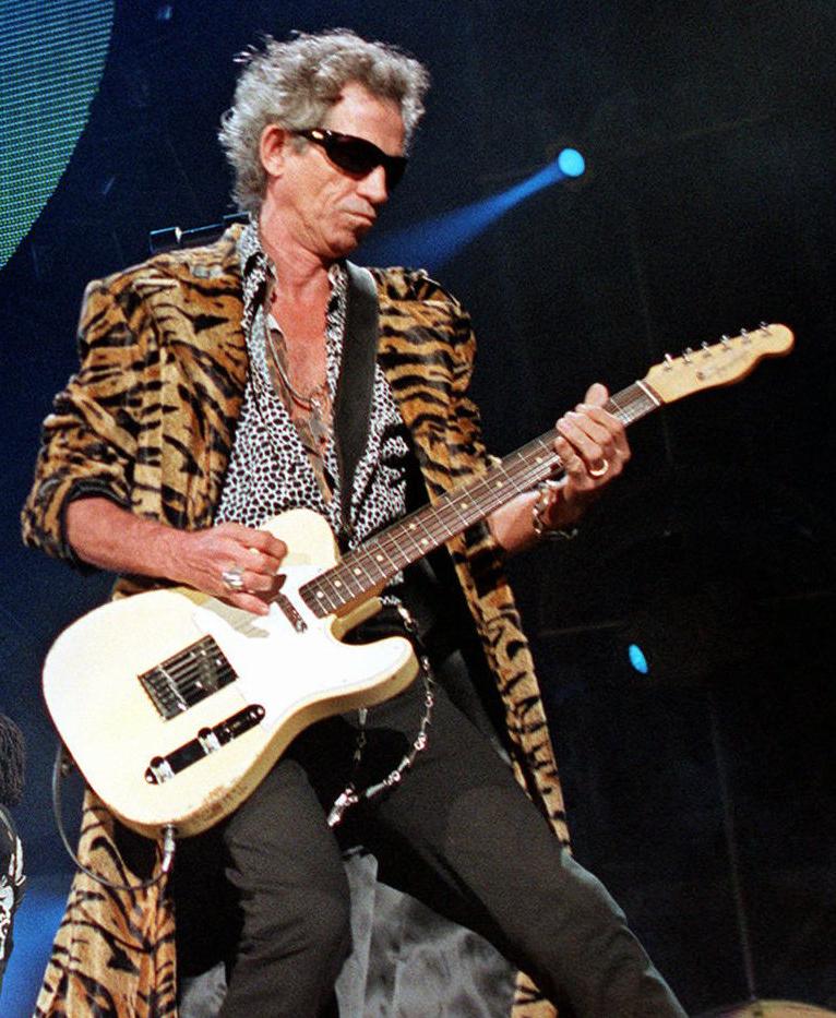 Кит Ричардс из Rolling Stones
