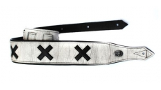 Coat of Arms White Strap