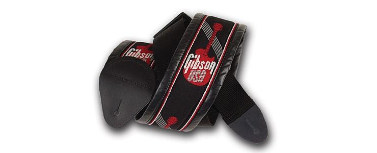 """ASGG-700 - 3"""" Woven Strap with Gibson Logo"""