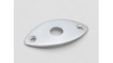 J000C Oval Jack Plate, 2-hole