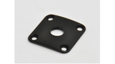 JLP0B 4-hole jack plate for Les Paul, radiussed