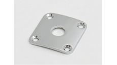 JLP0C 4-hole jack plate for Les Paul, radiussed