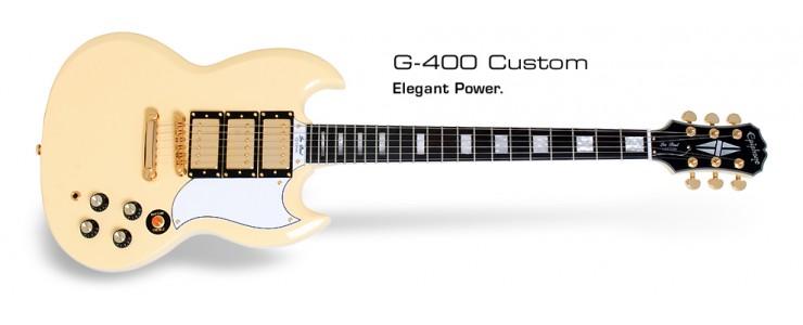G-400 Custom Antique Ivory
